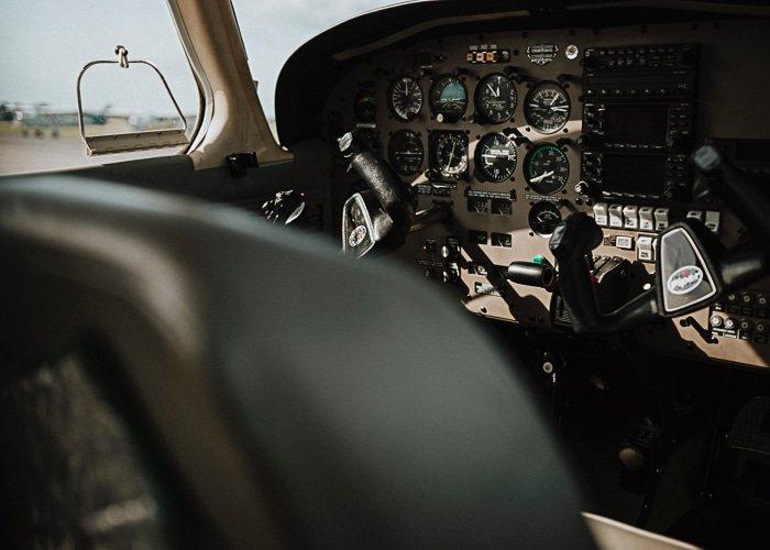 Men Hobby Flying A Plane